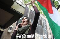 حملة تضامنية مع الفلسطينية نردين الكسواني