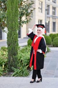 تهنئة لمرح خوالدة بمناسبة التخرج