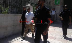 اعتقال اردنيين من حراس الاقصى (صور)