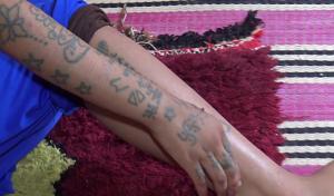 المغرب  .. اغتصبوها ورسموا الوشم على جميع جسدها ..