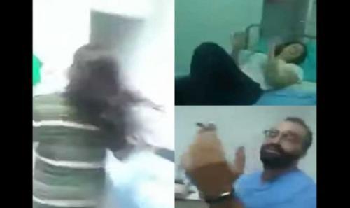 رقص ومخدرات ..  فضيحة لـ 3 أطباء داخل مستشفى (فيديو)