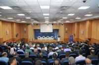 جامعة الزرقاء تتبادل التهاني بمناسبة عيد الفطر