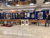 """""""عمان الاهلية"""" تشارك بمعرض التراث الأردني في موسكو"""