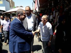 أبو السكر ينتقد الحملات الأمنية لإزالة البسطات بالزرقاء (صور)