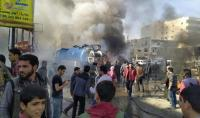 مقتل 18 شخصا بانفجار سيارة مفخخة في مدينة الباب السورية