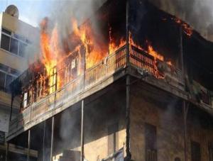 المفرق: وفاة ثمانيني بحريق منزل