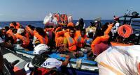 تركيا تنقذ عشرات اللاجئين قبالة سواحل مرمريس