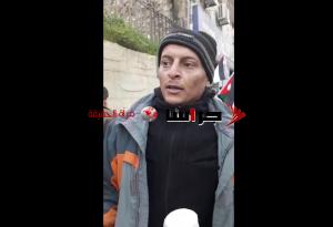فنان اردني يبيع الشاي في اعتصام المتعطلين عن العمل (فيديو)