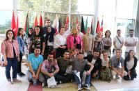 """طلبة """"Westminster"""" يزورون جامعة الشرق الأوسط"""