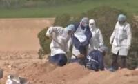 مقبرة خاصة بدفن وفيات كورونا في اربد