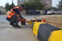 بلدية سحاب تطلق مبادرة أهل الهمة للبيئة وتعبيد الطرق (صور)