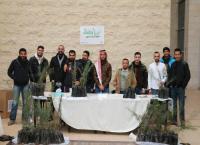 """طلبة إعلام جامعة الشرق الأوسط ينفذون حملة """"ازرع وطنك"""""""