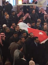 الآلاف يشيعون جثمان الشهيد الرحامنة (صور)