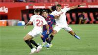 ريمونتادا لبرشلونة تقوده إلى نهائي كأس ملك إسبانيا