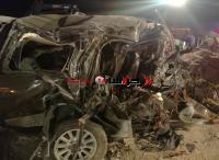 8 وفيات بينهم النائب العمامرة بحادث مروع (صور وفيديو)