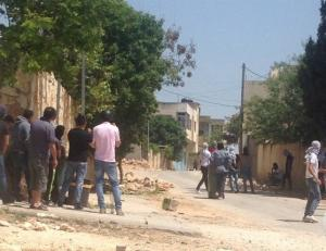 مواجهات مع الاحتلال عقب فعاليات تضامنية مع الأسرى (صور)