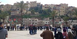 اعتصام أمام أمانة عمان احتجاجا على نظام الأبنية