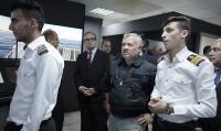 الملك يزور محطة العلوم البحرية في العقبة (صور)