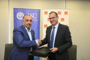Orange الأردن توقع اتفاقية تقديم خدمات اتصالات حصرية مع جامعة العلوم التطبيقية