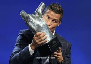 رونالدو يتوج بلقب أفضل لاعب في أوروبا