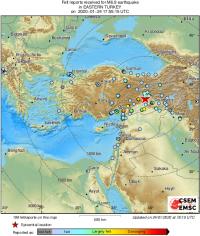 4 قتلى في زلزال ضرب تركيا (فيديو)