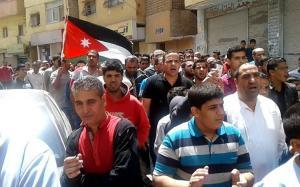 مسيرة في حي الطفايلة احتجاجاً على تعديلات الدستور (صور وفيديو)