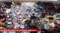 وفيات وشل حركة النقل بسبب الامطار في اسطنبول