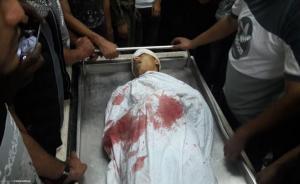 استشهاد طفل برصاص الاحتلال شرق رفح