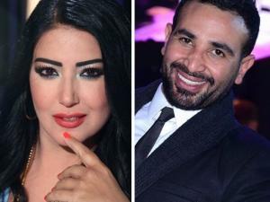 خطوة جريئة تُثبت زواج سمية الخشاب وأحمد سعد سراً (شاهد)
