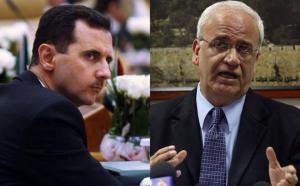 في تصريح ناري ..  عريقات: لا فرق بين الأسد وأي مجرم