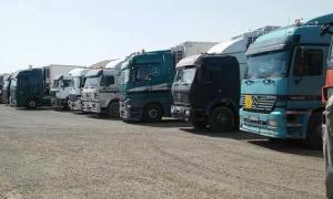 مطالب بفرض ضريبة على مرور المنتجات السورية من الاردن