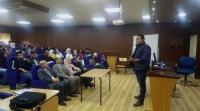 محاضرة بجامعة عمان الاهلية عن أضرار ومخاطر المخدرات