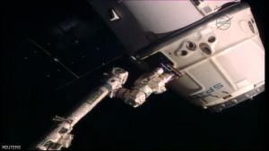 """المركبة """"دراغون"""" تعود للأرض"""