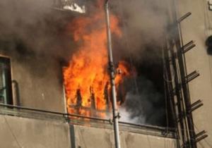 4 اصابات بحريق منزل في دير علا