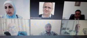 """مناقشة رسالة الماجستير رقم (34) عن بعد في """"عمان العربية"""""""