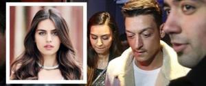 """ملكة جمال تركيا تقلب حياة """"أوزيل"""""""