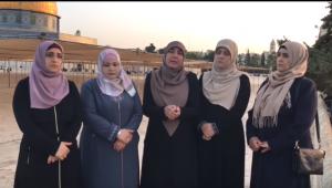 رواية حارسات المسجد الاقصى حول الاعتداء عليهن (فيديو)