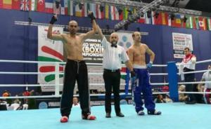 أردني يحرز لقب بطولة العالم للكيك بوكسينغ