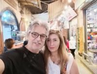 بالصور  ..  حقيقة انفصال عباس النوري عن زوجته