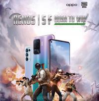 اختيار هاتف أوبو رينو5F الشريك الرسمي للهواتف الذكية