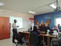 """اورنج تواصل تدريب طلبة هندسة """"اليرموك"""" في مختبر (OYIL)"""