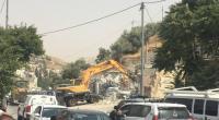 الإحتلال يهدم منشآت في القدس