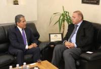 """رئيس """"عمان العربية"""" والسفير المكسيكي يبحثان التعاون الأكاديمي"""