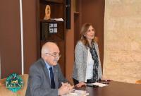 """محاضرة لـ""""عمان العربية"""" في مدرسة لاتين الفحيص الثانوية"""