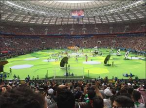 افتتاح مونديال كأس العالم للعام 2018 ( صور )