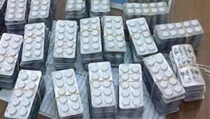 احباط تهريب ربع مليون حبة مخدر