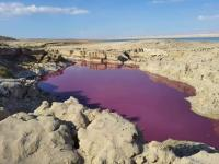 تحذير من الحفر الخسفية في البحر الميت