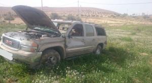 وفاة بتدهور مركبة في الطفيلة (صور)