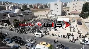 وقفة احتجاجية قرب السفارة الصهيونية في الرابية (صور)