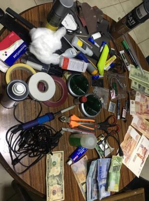احباط سرقة صراف آلي في عمان (صور)